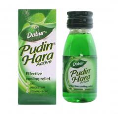 Пудин Хара - смесь мятных масел, быстро снимает боль в желудке, спазмы, колики и метеоризмы. Эффективно борется с инфекциями, восстанавливает микрофлору желудка.