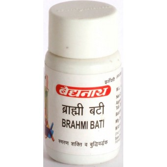Брахми Бати Буддхивардхак Brahmi Bati(Buddhivardhak) Baidyanath