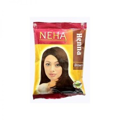 Натуральная индийская хна Neha 20гр. Коричневая