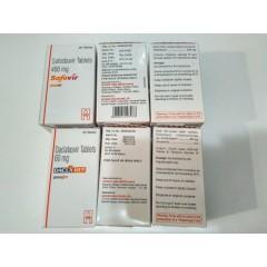 """Препарат от гепатита С """"Софосбувир"""" 400 мг 28 таб +Даклатасвир 60 МГ 28 таб от Хетеро"""