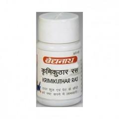 Кримикутхар Рас Байдянатх, Аюрведическое средство от паразитов , 80 табл (Krimikuthar Ras)