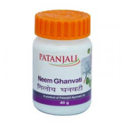 Ним Гханвати/Neem Ghanvati (кожа, антивирусное, антибактериальное, антигельминтное, универсальное средство)40 гр 80 таб