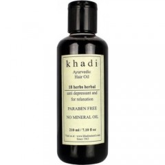 масло для волос «18 трав» (восстановление и реабилитация), Indian Khadi, 200 мл